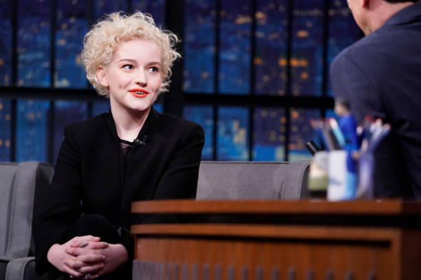 "NY: NBC'S ""Late Night With Seth Meyers"" With Guests Colin Quinn, Julia Garner, Jagged Little Pill (Band Sit-In: Chris Coleman)"