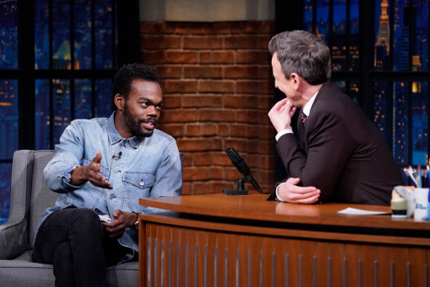 "NY: NBC'S ""Late Night With Seth Meyers"" With Guests Lester Holt, William Jackson Harper, Kevin Smith (Band Sit-In: Chris Coleman)"