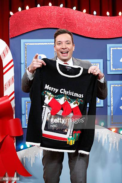 Jimmy gives away one last festive Christmas sweater on Friday December 13 2013