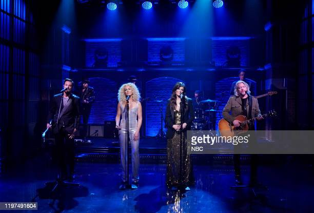 Little Big Town Jimi Westbrook Kimberly Schlapman Karen Fairchild Phillip Sweet perform on January 29 2020