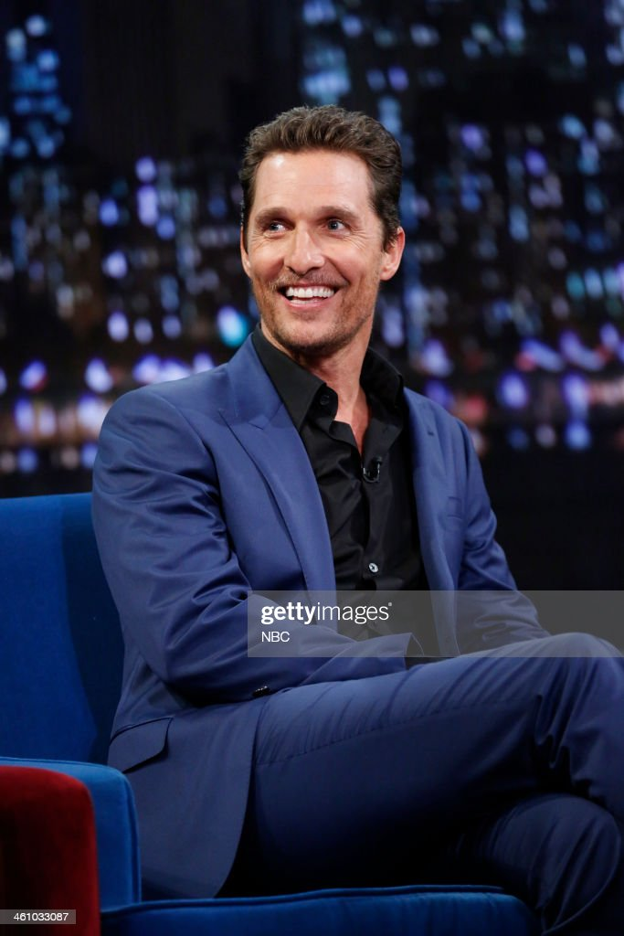 Matthew McConaughey on Monday, January 6, 2014 --