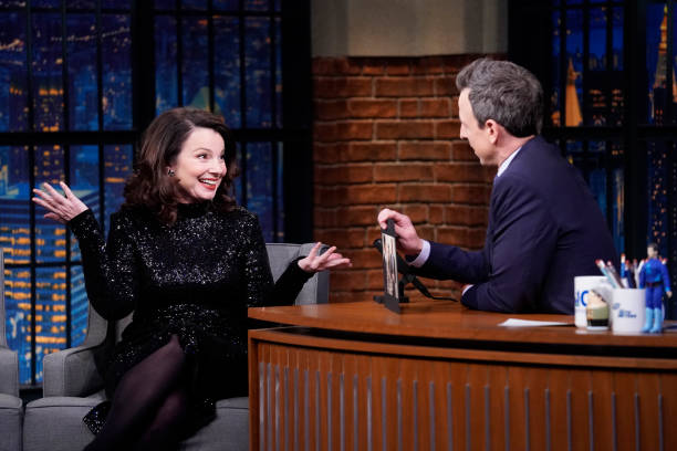 "NY: NBC'S ""Late Night With Seth Meyers"" With Guests Fran Drescher, Dean-Charles Chapman, Paul Krugman (Band Sit-In: Ilan Rubin)"