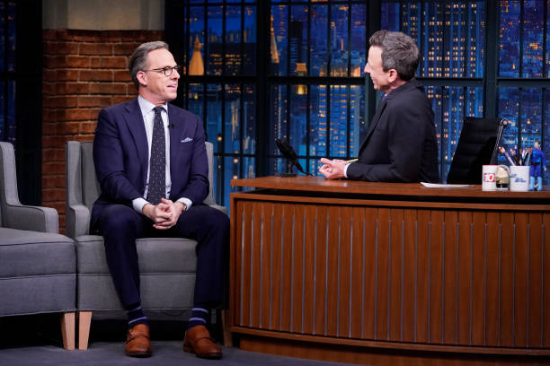 "NY: NBC'S ""Late Night With Seth Meyers"" With Guests Jake Tapper, Jacqueline Novak, CAROLINE ROSE (Band Sit-In: Michel'Le Baptiste)"