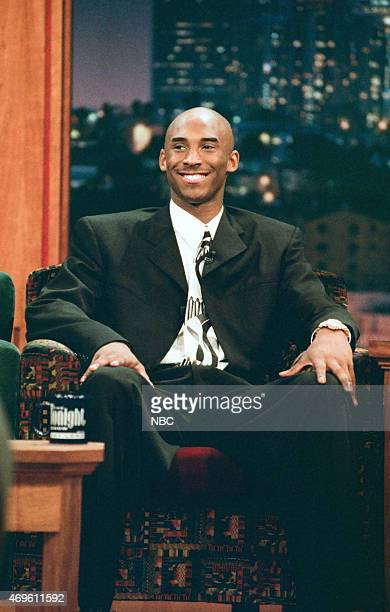 Professional basketball player Kobe Bryant during an interview on July 17 1996