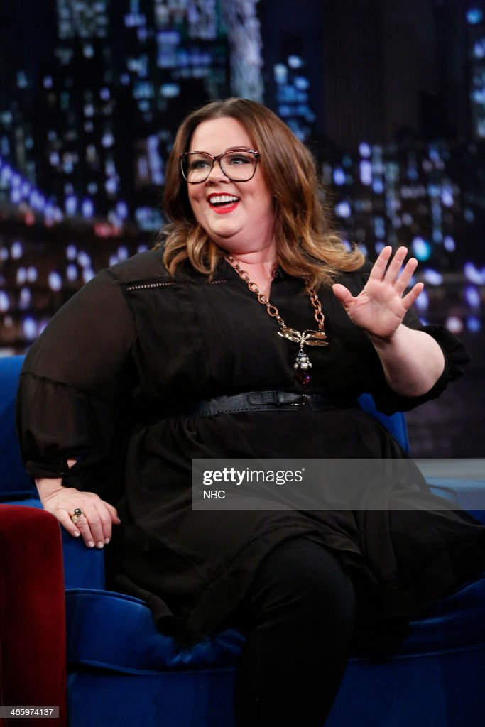 Melissa McCarthy on Thursday, January 30, 2014 -- (Photo by: Lloyd Bishop/NBC/NBCU Photo Bank via Getty Images)..