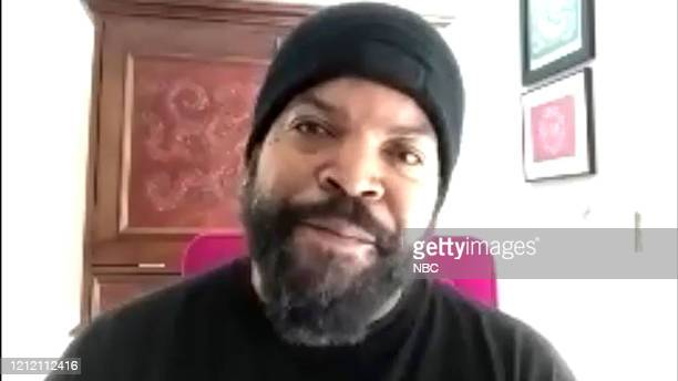 Episode 983A -- Pictured in this screen grab: Rapper/actor Ice Cube during an interview on May 6, 2020 --