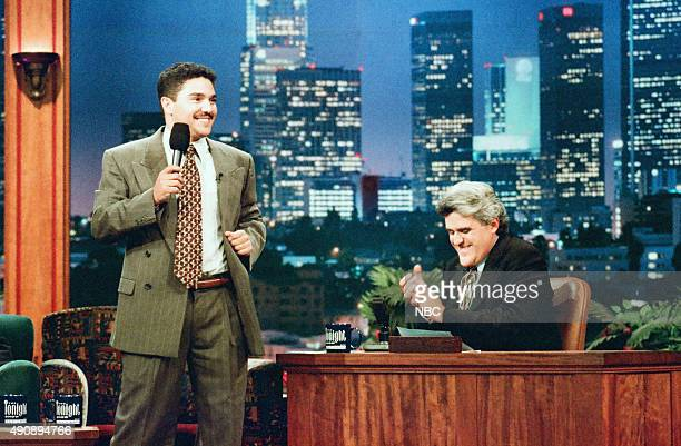 Actor Nicholas Turturro during an interview with host Jay Leno on September 13 1996