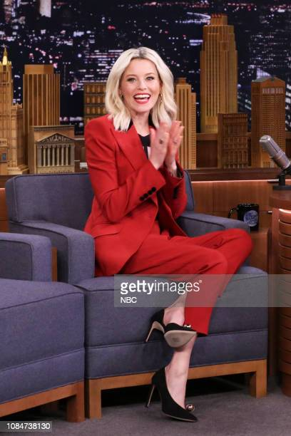 Actress Elizabeth Banks during an interview on January 18 2019