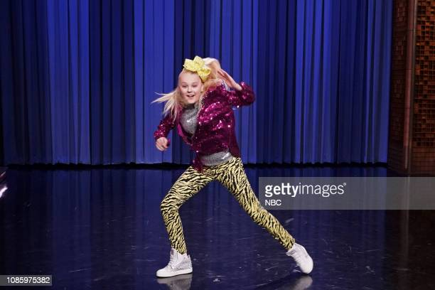 """Episode 998 -- Pictured: Dancer JoJo Siwa during """"Aggressive Dance-Off"""" on January 21, 2019 --"""