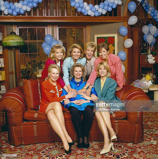 'A Chance of Showers' Faith Ford Faith Daniels Joan Lunden and Katie Couric Mary Alice Williams Candice Bergen and Paula Zahn Image dated April 1992