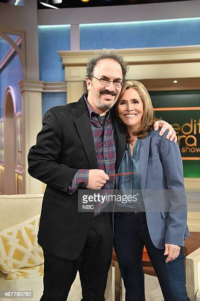 Comedy Centrals A Night Of Too Many Stars Executive Producer Robert Smigel Meredith Vieira