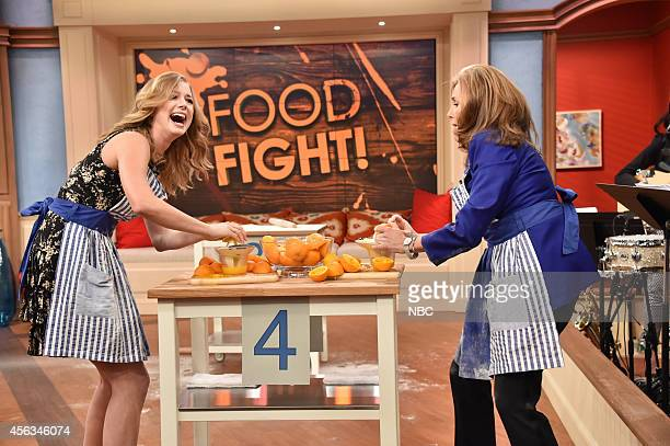 Emily VanCamp Meredith Vieira Photo by Mike Coppola/NBC/NBCU Photo Bank via Getty Images
