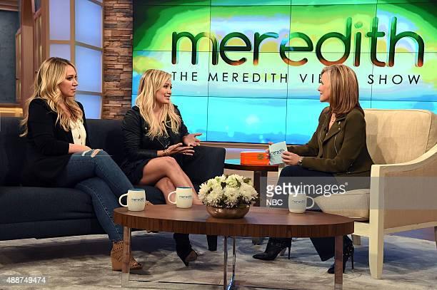 Haylie Duff Hilary Duff Meredith Vieira