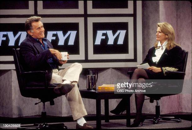 'Angst For The Memories' Features Martin Sheen and Candice Bergen Image dated August 13 1993
