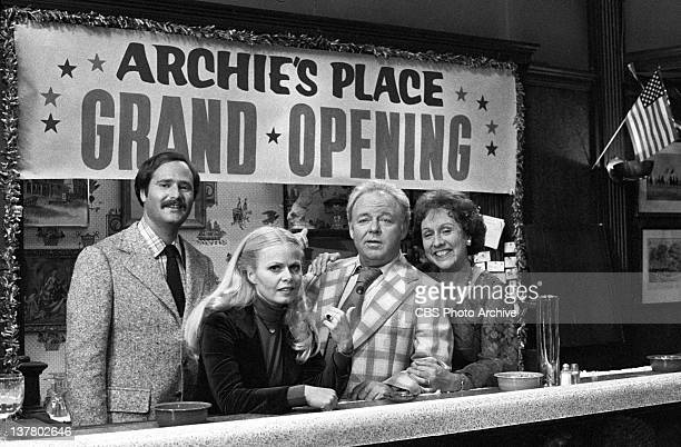 Episode, 'Archie's Grand Opening' featuring Rob Reiner as Michael Stivic, Sally Struthers as Gloria Bunker-Stivic, Carroll O'Connor as Archie Bunker...