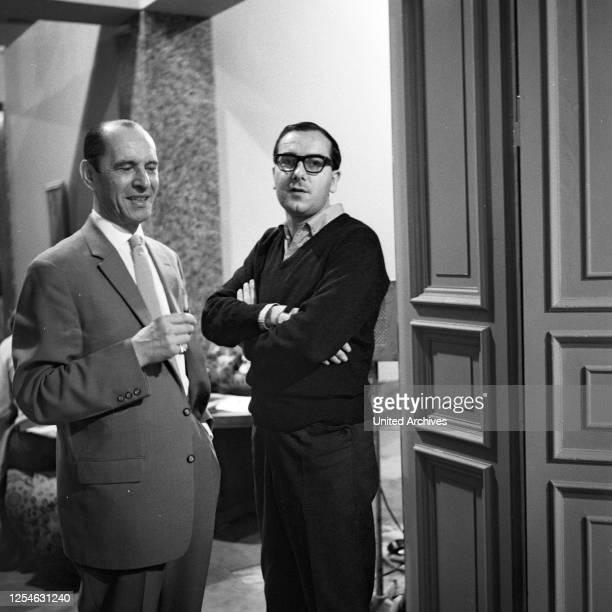 """Episode """"Der Fall Nebe"""" aus der ZDF Fernsehserie """"Das Kriminalgericht"""", Deutschland 1964, Regisseur Georg Tressler ."""
