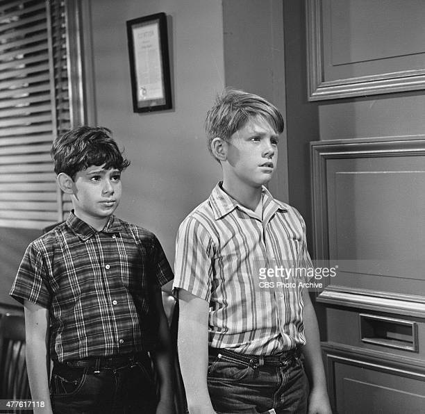 SHOW episode 'Opie Finds a Baby' Arnold left and Opie Season 7 episode 10 Image dated September 20 1966