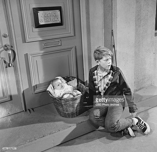 SHOW episode 'Opie Finds a Baby' Opie finds a baby Season 7 episode 10 Image dated September 20 1966