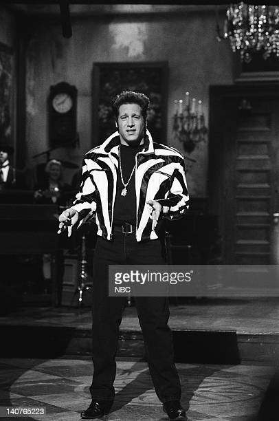 Andrew Dice Clay during the monologue on May 12 1990 Photo by Alan Singer/NBCU Photo Bank