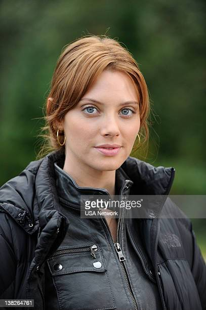 PSYCH 'DEAD BEAR WALKING ' Episode Pictured April Bowlby as Lauren Lassiter