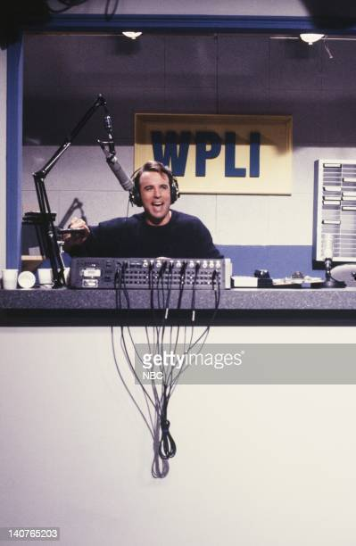 Kevin Nealon as Tony Trailer during WPLI skit on May 12 1990 Photo by Alan Singer/NBCU Photo Bank