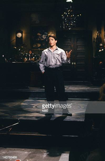 Matthew Broderick during the monologue on October 15 1988 Photo by NBC/NBCU Photo Bank