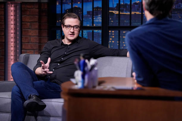 """NY: NBC'S """"Late Night With Seth Meyers"""" With Guest Chris Hayes"""