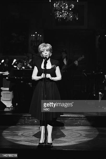 Musical guest Julee Cruise performs on May 12 1990 Photo by Alan Singer/NBCU Photo Bank