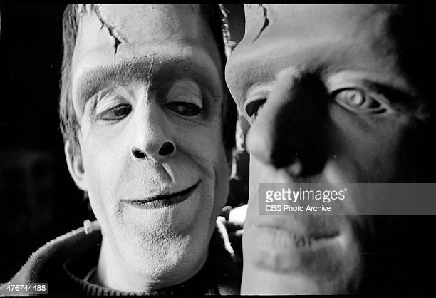 MUNSTERS episode Prehistoric Munster Episode 25 season 2 originally aired March 10 1966 Image dated January 11 1966 Pictured is Fred Gwynne as Herman...