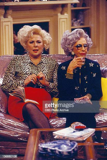 'Take Back Your Mink' From left Renee Taylor and Ann Morgan Guilbert Image dated September 30 1994