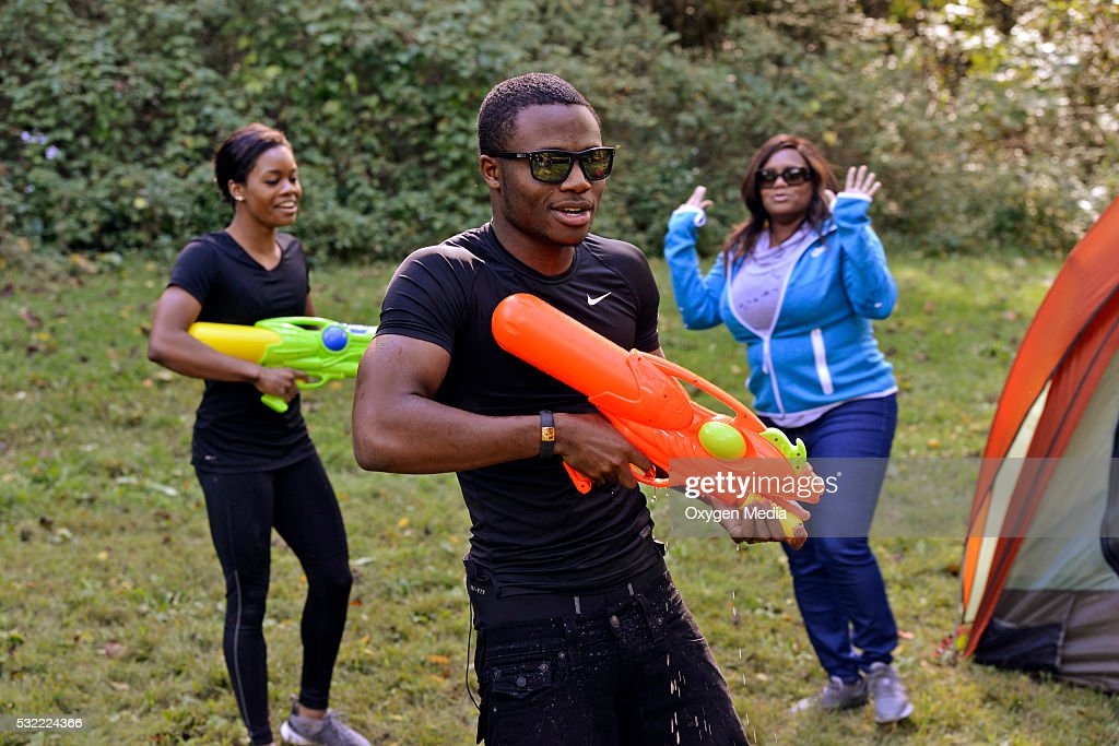 'The Last Days of Summer' -- Pictured: (l-r) Gabrielle 'Gabby' Douglas, Johnathan Douglas, Natalie Hawkins --