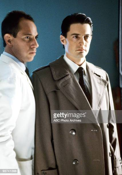 PEAKS Episode Three Season One 4/26/1990 FBI Special Agent Dale Cooper with abrasive FBI forensics expert Albert Rosenfield who after offending...