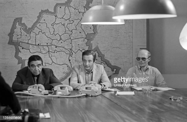 """Episode """"Trimmel hält ein Plädoyer"""" aus der Krimireihe """"Tatort"""", Deutschland 1978, Regie: Peter Schulze Rohr, Darsteller: Walter Richter, Wolf..."""