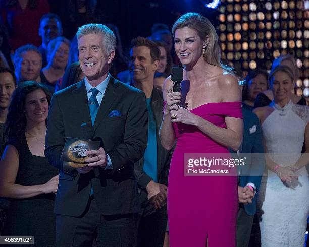 """Episodes 2311"""" - After weeks of stunning competitive dancing, the final four couples advance to the finals of """"Dancing with the Stars,"""" live, MONDAY,..."""