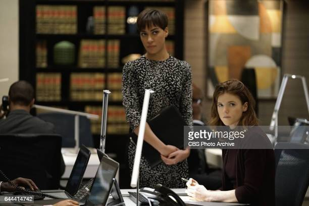 Episodic coverage of THE GOOD FIGHT Pictured Cush Jumbo as Lucca Quinn Rose Leslie as Maia Rindell