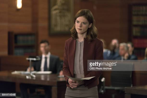 Episodic coverage of THE GOOD FIGHT Pictured Rose Leslie as Maia Rindell