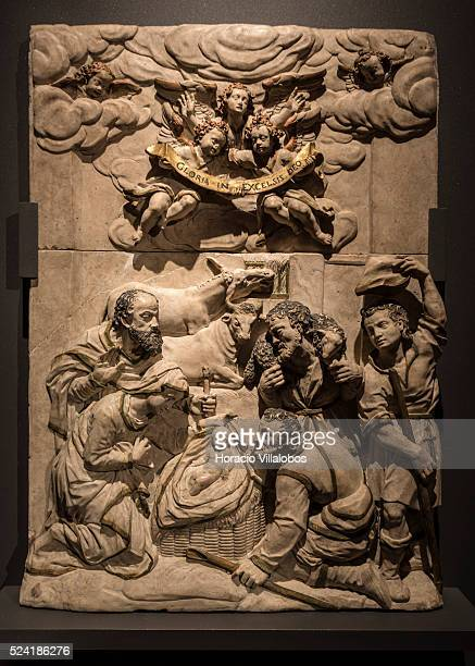 Epitaph of Ludwig Reinhelt by Hans Juncker at Schloss Johannisburg museum in Aschaffenburg Germany 14 May 2015 one of the most important buildings of...
