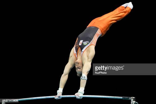 Epke Zonderland during the European Women's and Men's Artistic Gymnastics Championships in Szczecin Poland on April 14 2019