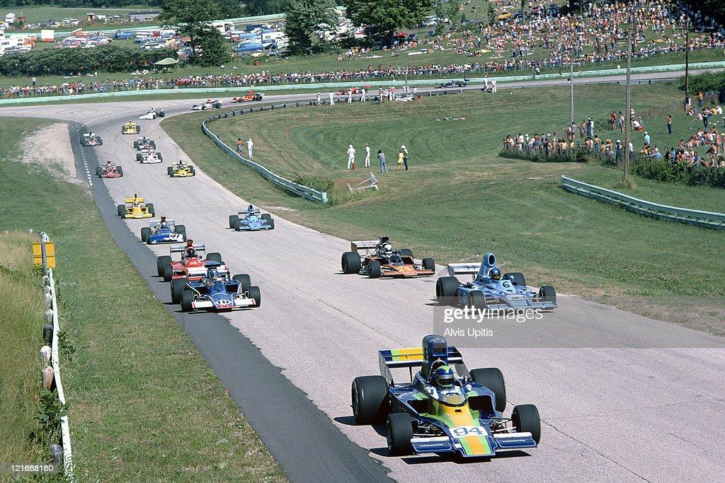 Elkhart Lake Formula 5000 Race : News Photo
