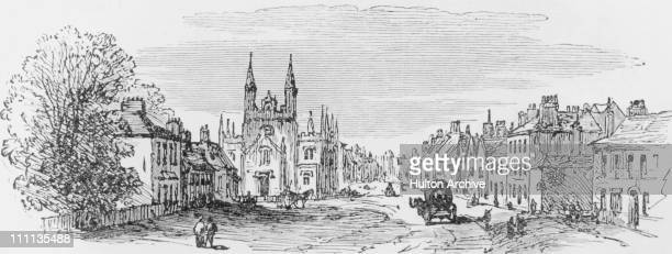 Epping Essex at the time of the opening of Epping Forest by Queen Victoria May 1882