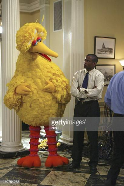 WING Eppur Si Muove Episode 16 Aired Pictured Dule Hill as Charlie Young Big Bird Photo by Mitch Haddad/NBCU Photo Bank