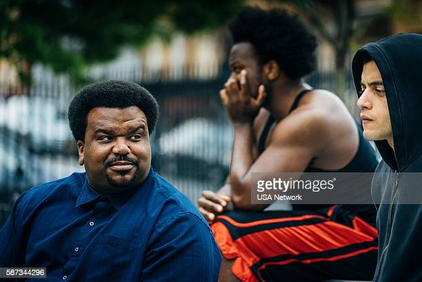 MR ROBOT eps20_unm4sk%u2010pt2tc Episode 202 Pictured Craig Robinson as Ray Rami Malek as Eliot Alderson