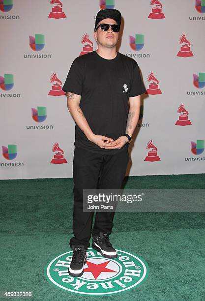 Eptos Uno attends the 15th annual Latin GRAMMY Awards at the MGM Grand Garden Arena on November 20 2014 in Las Vegas Nevada