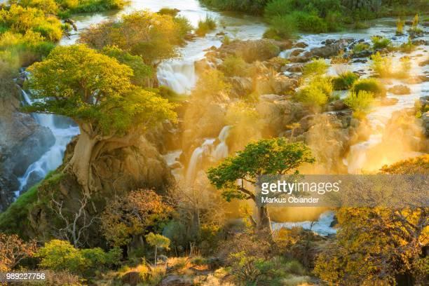 Epupa Falls at Sunrise, Kunene Region, Namibia