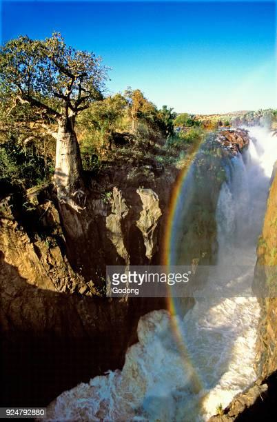 Epupa falls on the Kunene river Namibia