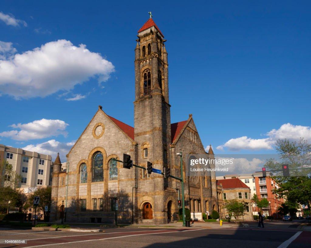 Epworth United Methodist Church, Norfolk, Virginia : ストックフォト