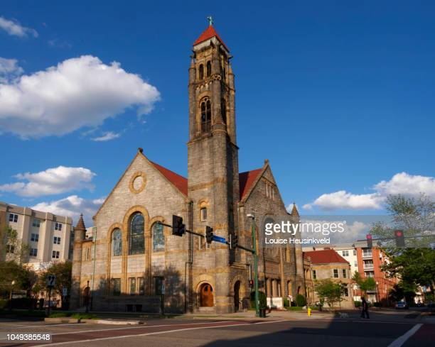 epworth united methodist church, norfolk, virginia - norfolk virginia stock pictures, royalty-free photos & images