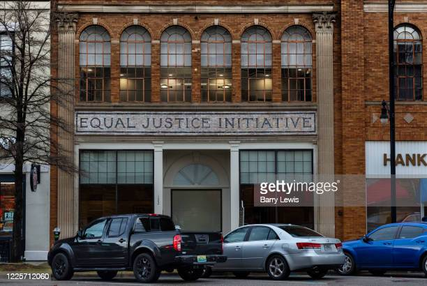 Equal Justice Initiative offices on 3rd March 2020 in Montgomery, Alabama, United States. Lawyer and justice advocate Bryan Stevenson set up the...
