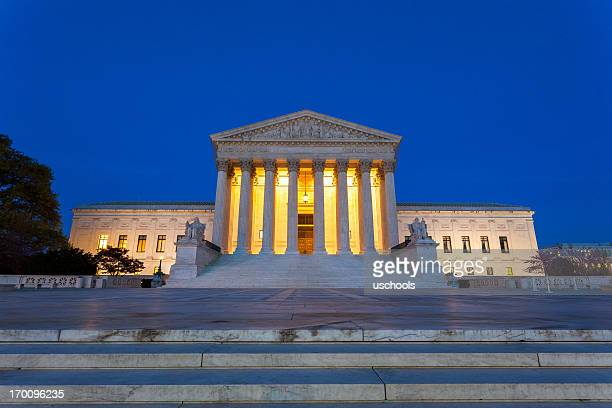 equal justice under law - us supreme court building stock pictures, royalty-free photos & images