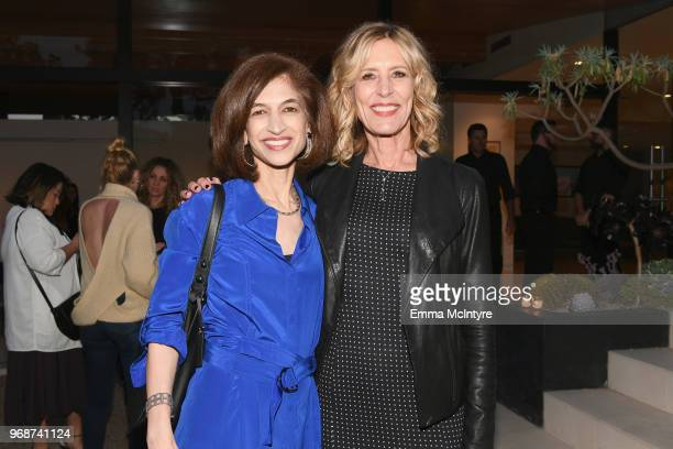 Equality Now Global Executive Director Yasmeen Hassan and Christine Lahti attend Hope Lives in Every Name A Celebration with Equality Now and Hulu's...